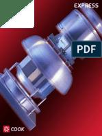 Unidad de Extracción Tipo Hongo Descarga Vertical - Ueh - V