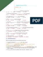 English Grammar Retro