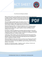 fact sheet differential response