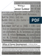 Cover Letter Guides