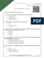 OracoesSubord + Func.Sintaticas-Exercicios
