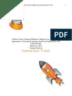 Space dsExploration Thematic Unit