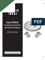 MANUal Sumo Robots