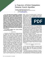 Minimum-Time Trajectory of Robot Manipulator