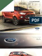 New 2013 EcoSport Brochure
