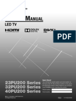 Toshiba PU 200 ZE User manual