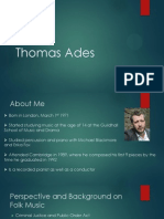 Thomas Ades Project