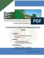PROYECTO CONSTRUCCIONES INFORMALES