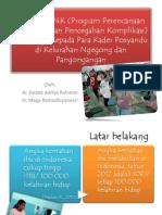 Sosialisasi P4K (Program Perencanaan Persalinan Dan Pencegahan