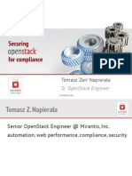 Securing OpenStack for Compliance