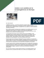 Científicos instan a un cambio en la normativa de transgénicos en Europa.pdf