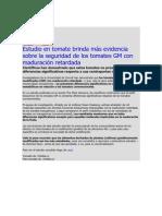 Estudio en tomate brinda más evidencia sobre la seguridad de los tomates GM con maduración retardada.pdf