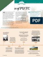 P&TC Timeline