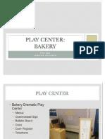 play centere presentation work