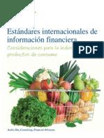 IFRS en Industria de Consumo