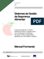 Manual de Sistemas de Gestão Da Segurança Alimentar