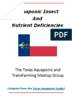 Aquaponic Insect and Nutrient Deficiencies
