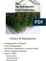 Using Hydroponics for Food Production