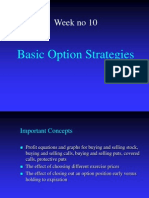 Basic Option Strategies