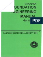 Canadian Foundation Engineering Manual