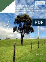 Good Practices Guide for Assessment of WTG Noise - IOA - 2013