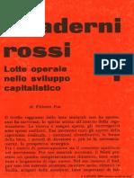 Quaderni Rossi 1 Lotte Operaie