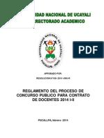 Concurso Contr Doc 2014