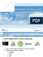 ICUFN-TDoA Based Indor Visible Light Positioning System