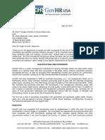 GovHR USA proposal for Battle Creek