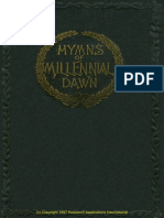 1905 Hymns of the Millennial Dawn