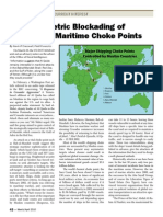 The Assymetric Blocking of the World's Maritime Choke Points