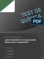 Test de Quimica