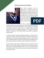 Biografía de José Gálvez Egúsquiza