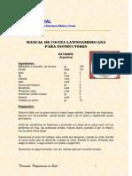 Manual de Cocina Latioameriacana Para Instructores