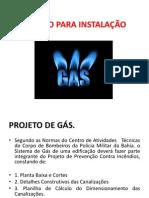 Projeto Para Instalação de Gás