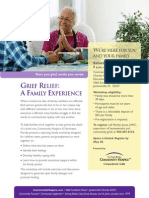 Grief Relief a Familiy Experience Workshop June 2014