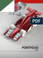 X-aile Racing - F1 in School Greece Finals 2014 Portfolio
