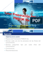 Taller Preparacion PMI