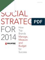 Social Strategies2014
