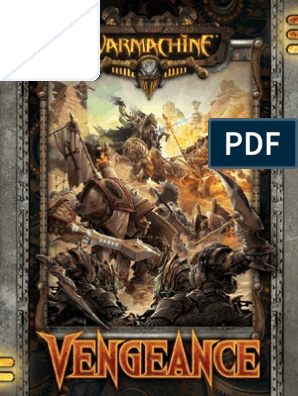 Warmachine - Vengeance | Unrest | Armed Conflict