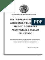Ley de Adicciones ( Ref-7-May-09)
