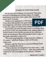 Miami Herald - November 6, 2009