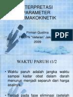 Interpretasi Parameter Farmakokinetik