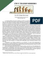 Evolucion y Transformismo(Dr Enrique Diaz Araujo)