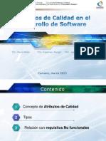 Atributos de Calidad en El Desarrollo de Software