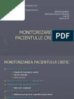 7 Monitorizarea Pacientului Critic