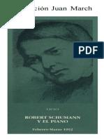 Schumann y El Piano Fundación Juan March
