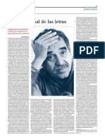 Obituario Gabriel Garcia Marquez
