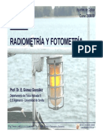 Optica - Tema 4 - Radiometria y Fotometria - 08-09