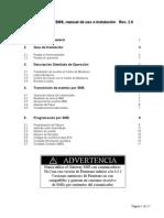 Manual de Uso Puerta de Enlace SMS Rev2